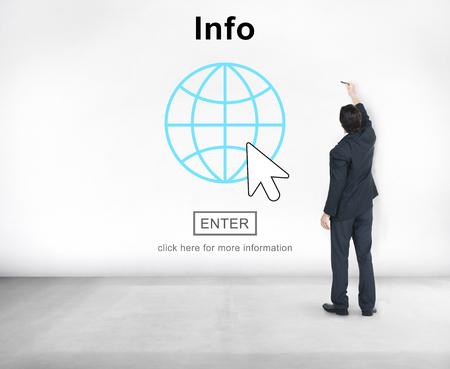 details: Info Facts Details Graphics Interface Concept