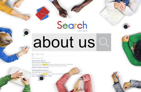 Wir über uns Seite Informationen Geschichte Marken-Konzept