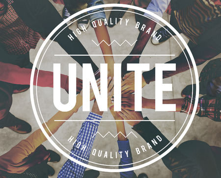 Unite Community Connection Cooperation Support Concept