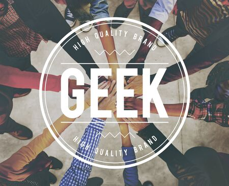 socially: Geek Intellectual Nerd Socially Awkward Concept