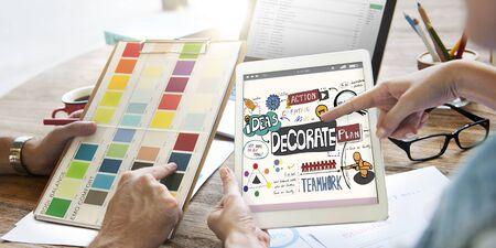 decorate: Decorate Decoration Style Design Trends Concept