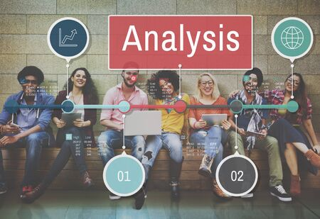 information analysis: Analysis Information Insight Connect Data Concept