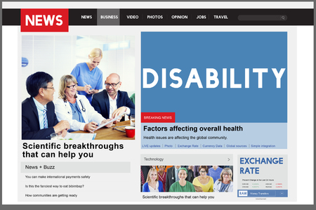 incapacitated: Disability Disabled Disorder Medical Mental Special Concept Stock Photo