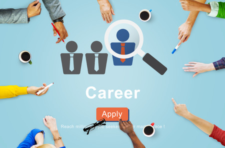 resources: Career Expertise Hiring Professional Occupation Concept Stock Photo