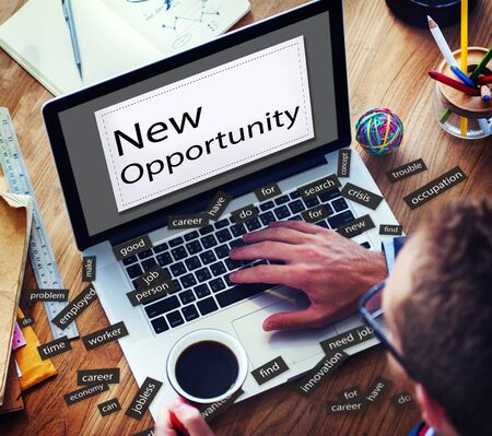 chance: New Opportunity Achievement Choice Chance Concept Stock Photo