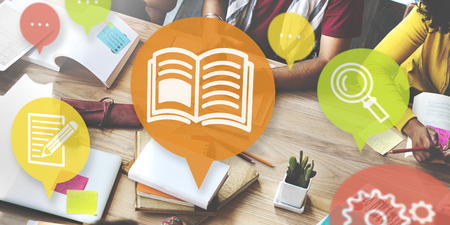 Knowledge Training Learning Skills Education Concept Stok Fotoğraf