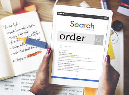 order shipping: Order Shipping Purchase Reserve Command Concept