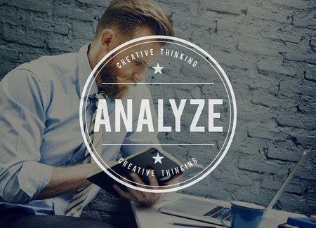 information analysis: Analysis Analytics Information Data Study Concept Stock Photo