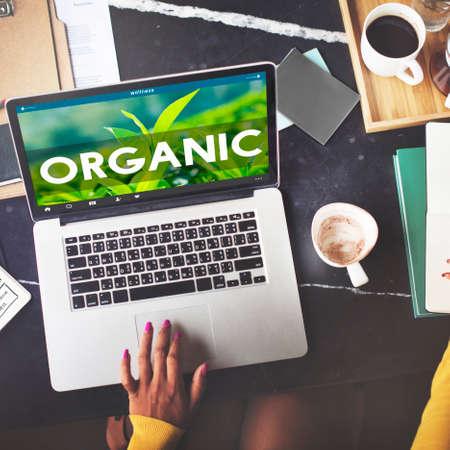 frescura: Org�nica frescura dieta concepto naturales