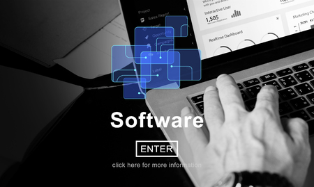 people development: Software Development Program Technology Data Concept