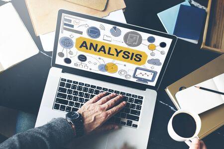 information analysis: Analysis Information Data Planning Strategy Analytics Concept Stock Photo