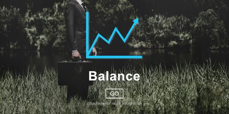 funds: Balance Funds Financial Graph Interface Concept
