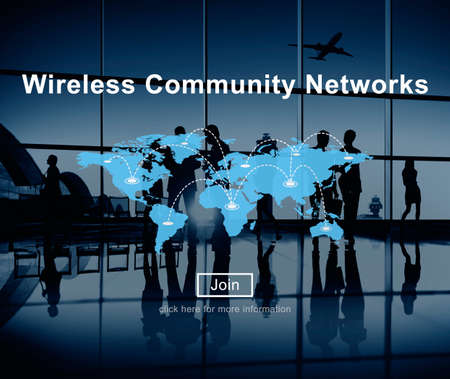 wireless terminals: Wireless Community Networks Technology Hotspot Concept