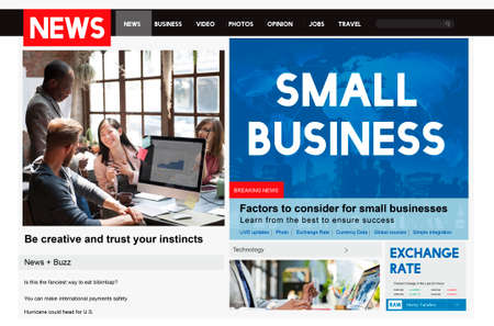small articles: Small Business Niche Market Startup Product Ownership Concept