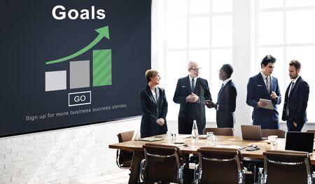 Goals Aspiration Dreams Believe Aim Target Concept