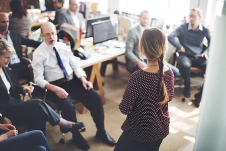 Konferenz Trainingsplanung Learning Coaching Business-Konzept Lizenzfreie Bilder
