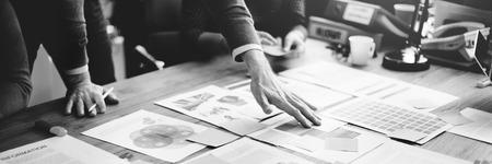 La gente de negocios Reunión Design Ideas Concept