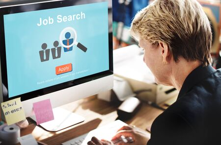 place of employment: Jobs Recruitment Employment Human Resources Website Online Concept