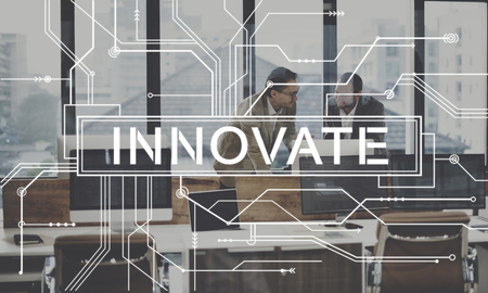 Innovate Future Technology Internet Online Digital Concept