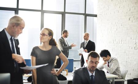 reunion de trabajo: Equipo Negocios Discusión Reunión Concepto Corporativa