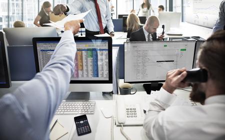 correspondencia: Concepto de negocios Equipo de Trabajo de Contabilidad correspondencia
