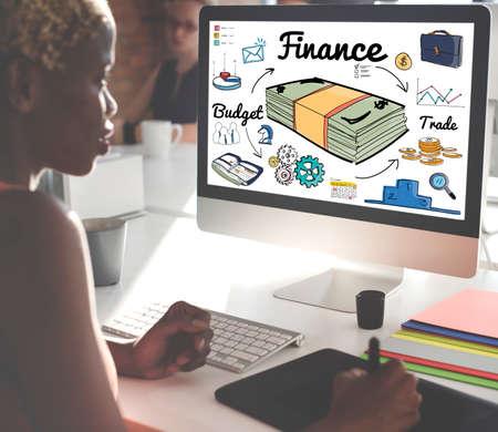 expenditure: Finance Money Debt Expenditure Trade Concept