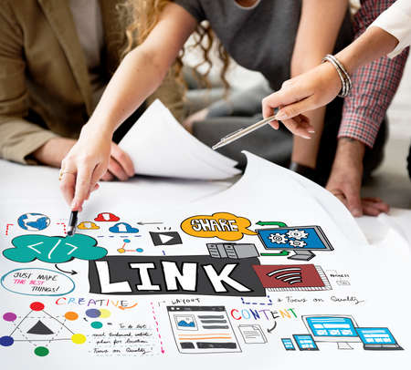 html: Link Connection Network Technology HTML Concept