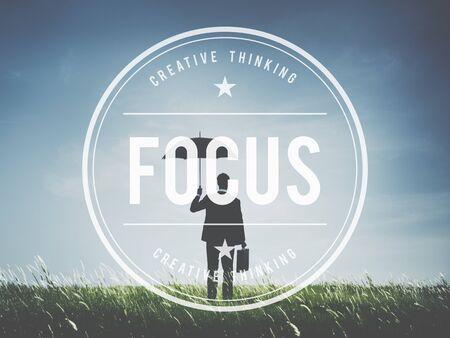 definicion: Enfoque concentrado Definición Centrándose Misión Concepto