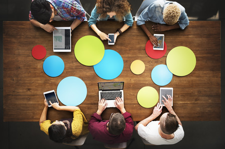 Studenten Connection Digital Devices Technology Concept