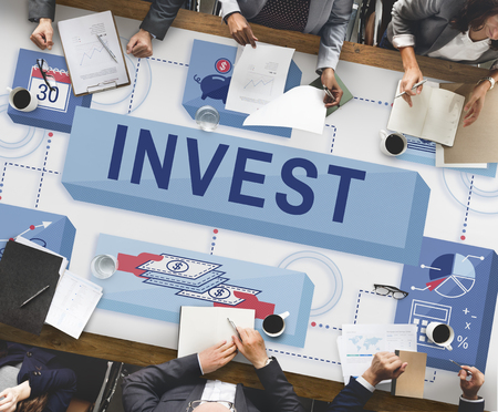 costs: Invest Investment Financial Budget Costs Concept