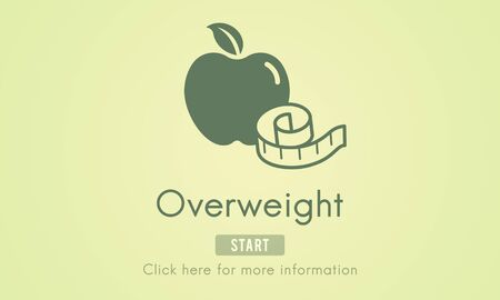 diabetes food: Overweight Diet Eating Disorder Unhealthy Diabetes Fat Concept