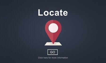 Localiza Ubicación Dirección de navegación Posición Concepto de viaje