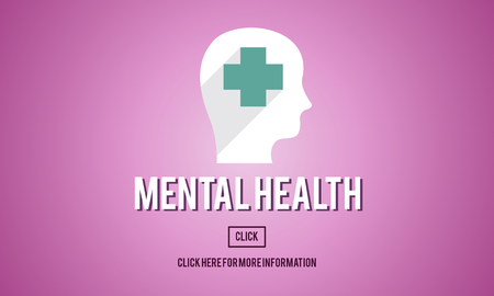 social emotional: Mental Health Emotional Medicine Psychology Concept Stock Photo
