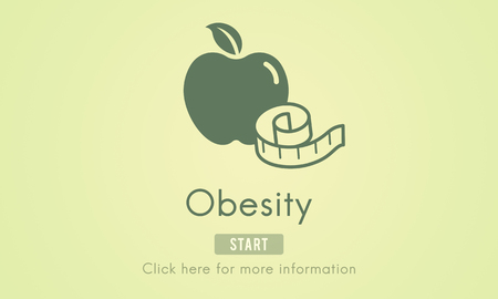 diabetes food: Obesity Diet Eating Disorder Unhealthy Diabetes Fat Concept