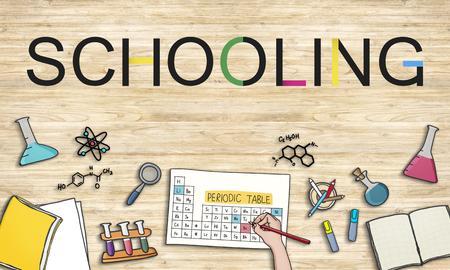 schooling: School Schooling Student Knowledge Educational Concept