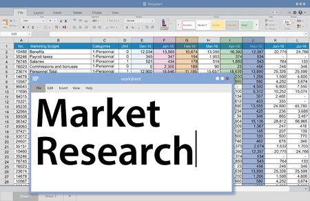 spreadsheets: Market Research Consumer Needs Feedback Concept