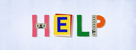 a helping hand: Help Aid Advice Charity Support Service Concept Stock Photo