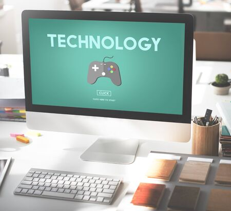 pc icon: Technology Equipment Gaming Innovative Concept