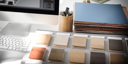 #54620424   Design Studio Idee Kreativität Holzpalette Dekoration Konzept