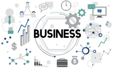 commercial: Business Company Corporation Commercial Concept Stock Photo
