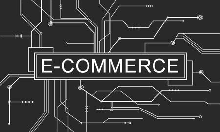 circuit sale: E-commerce Online Shopping Sale Concept