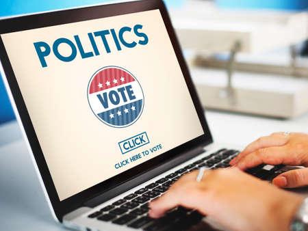 Politics Vote Election Government Party Concept Stock Photo