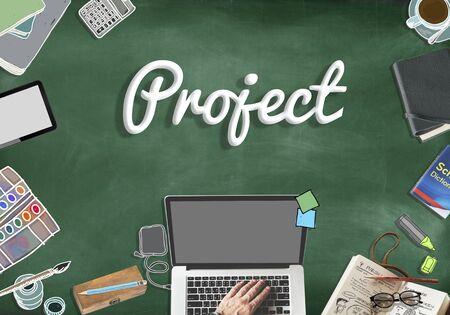 expect: Project Management Planning Ideas Concept