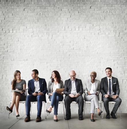 Risorse umane colloquio di assunzione concetto di lavoro