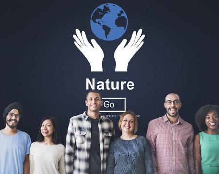 human hands: Nature Ecology Environmental Conservation Natural Life Concept