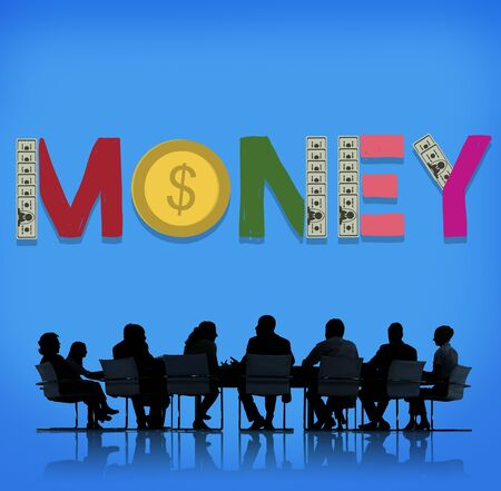 investment concept: Money Finance Economy Payment Investment Concept Stock Photo