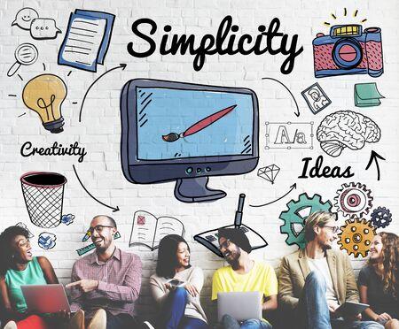 minimal: Simplicity Minimal Minimalist Simple Clean Clear Concept