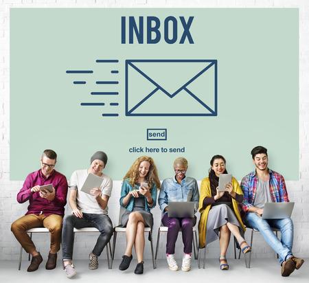 digital device: E-mail Correspondence Envelpoe Message Inbox Concept