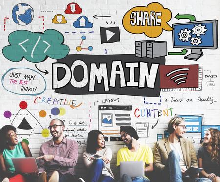 diversity domain: Domain Layout Address Share Content Concept