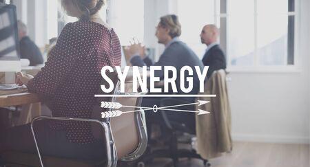 sinergia: La sinergia del equipo Equipo Concpet Colaboración